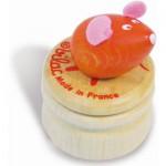 Boîte à dent de lait : Souris orange