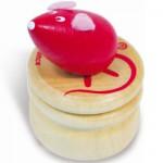 Boîte à dent de lait - Souris rouge