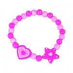 Bracelet étoile et coeur
