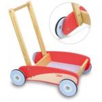 Chariot de marche rétro rouge