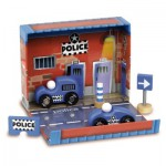 Coffret de police : Camion et voiture de police