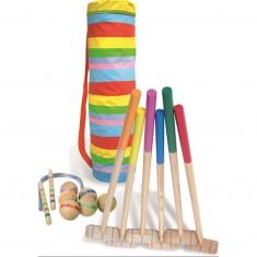 Croquet sac golf multicolore