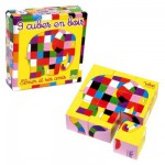 Jeu de 9 cubes Elmer