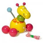 Jouet à tirer Baby Paf la girafe