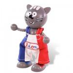 Figurine chat: Léon le Chaton: Mascotte de l'Exposition universelle Shanghai 2010