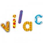 Lettres minuscules Magnets alphabets en coffret en bois