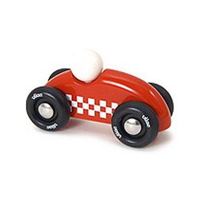 Mini véhicule de rallye checkers : Rouge - Vilac-2282R