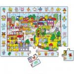 Puzzle 35 pièces en bois : Grand puzzle d'observation