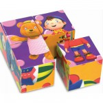 Puzzle 4 cubes : Oui Oui