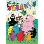 Puzzle 48 pièces : Bienvenue chez les Barbapapa