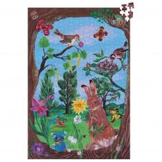 Puzzle 500 pièces : Au bois par Nathalie Lété