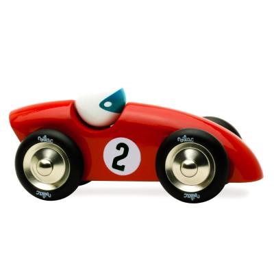 voiture en bois comp tition gm rouge jeux et jouets vilac avenue des jeux. Black Bedroom Furniture Sets. Home Design Ideas