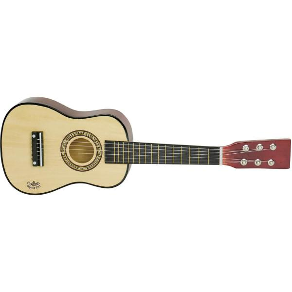 Guitare en bois naturel - Vilac-8358