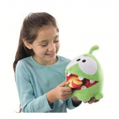 Peluche interactive Cut the rope : Om Nom Candy Monster