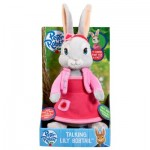 Peluche parlante Pierre Lapin : Lily
