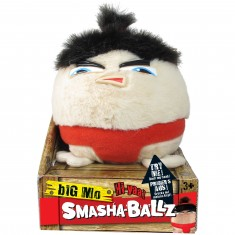 Peluche Smasha-Ballz Mini Slammers : Big Mo le Sumo