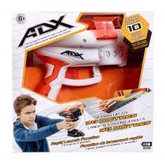 Propulseur d'avions en papier ADX : Blanc et orange
