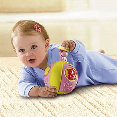Balle musicale Baby Balle Surprise : Rose - Vtech-061435