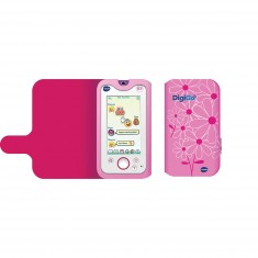 Etui pour portable console Digigo : Rose