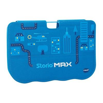 etui pour storio max 5 pouces bleu jeux et jouets vtech avenue des jeux. Black Bedroom Furniture Sets. Home Design Ideas