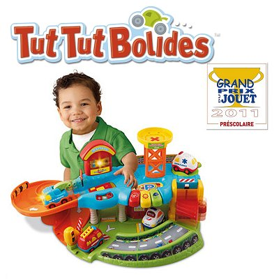 Garage ducatif tut tut bolides vtech magasin de jouets - Garage educatif tut tut bolides rose ...