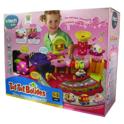 garage tut tut bolides rose vtech magasin de jouets pour enfants. Black Bedroom Furniture Sets. Home Design Ideas