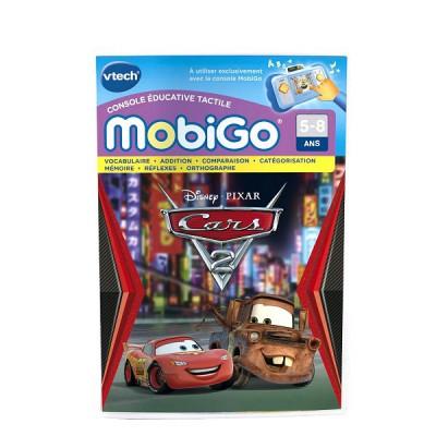 jeu pour console de jeux mobigo cars 2 jeux et jouets vtech avenue des jeux. Black Bedroom Furniture Sets. Home Design Ideas