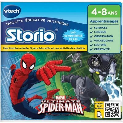 jeu pour console de jeux storio spiderman vtech. Black Bedroom Furniture Sets. Home Design Ideas