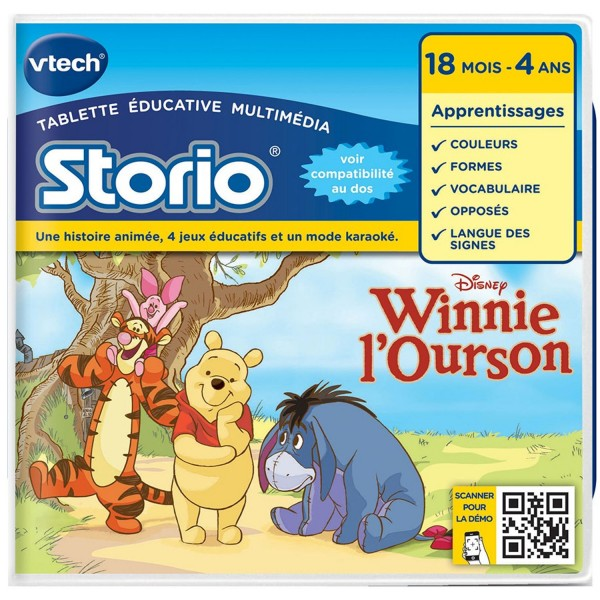 Jeu pour console de jeux storio winnie l 39 ourson jeux - Jeux de winnie l ourson gratuit ...