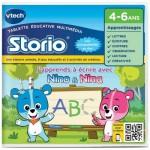 Jeu pour console de jeux Storio 2 Ecriture : J'apprends à écrire avec Nina et Nino