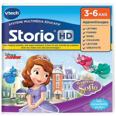 Jeu pour console de jeux storio hd princesse sofia - Telecharger princesse sofia ...