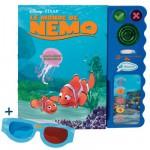 Livre interactif Magi'livre avec lunettes 3D : Le monde de Nemo
