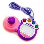 Manette de jeu pour console V.Smile : Rose et violet