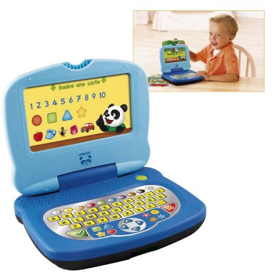 Ordinateur P'tit Genius Panda : Bleu - Vtech-120005