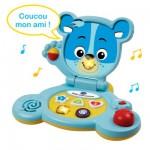 Ordinateur Baby ordi ourson : Bleu