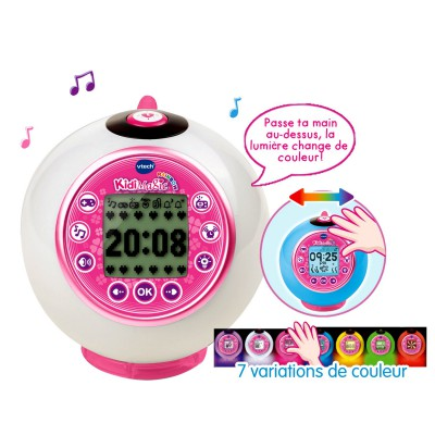 ordinary radio reveil pour enfant 3 vtech radio reveil kidimagic rainbow. Black Bedroom Furniture Sets. Home Design Ideas
