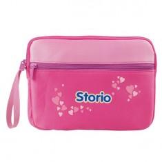 Sacoche pour console et  jeux Storio - Rose