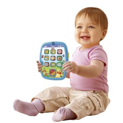 tablette des petits winnie l 39 ourson baby tablette. Black Bedroom Furniture Sets. Home Design Ideas