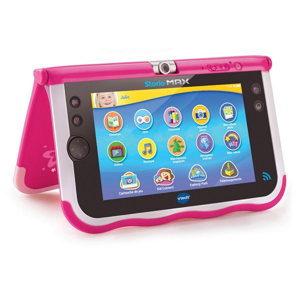 tablette storio max 7 pouces rose jeux et jouets vtech avenue des jeux. Black Bedroom Furniture Sets. Home Design Ideas
