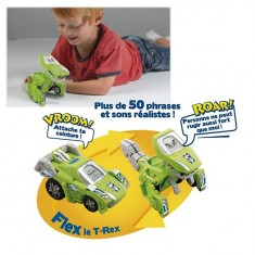 Véhicule dinosaure Switch&Go Dinos : Flex le T-Rex