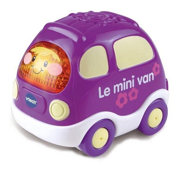 voiture tut tut bolides roses erwan le mini van violet. Black Bedroom Furniture Sets. Home Design Ideas
