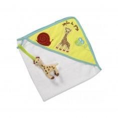 Cape de bain Sophie la girafe