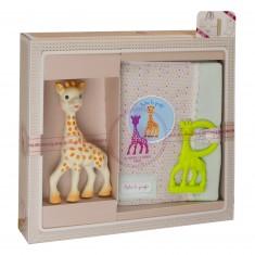 Coffret de naissance Sophie la Girafe : Sophisticated grand modèle version 2