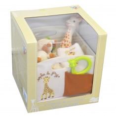 Corbeille de naissance Sophie la Girafe