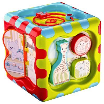 Cubbig sophie la girafe vulli le lutin rouge - Table d eveil sophie la girafe ...