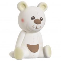 Hochet animal en caoutchouc : Gabin l'ours