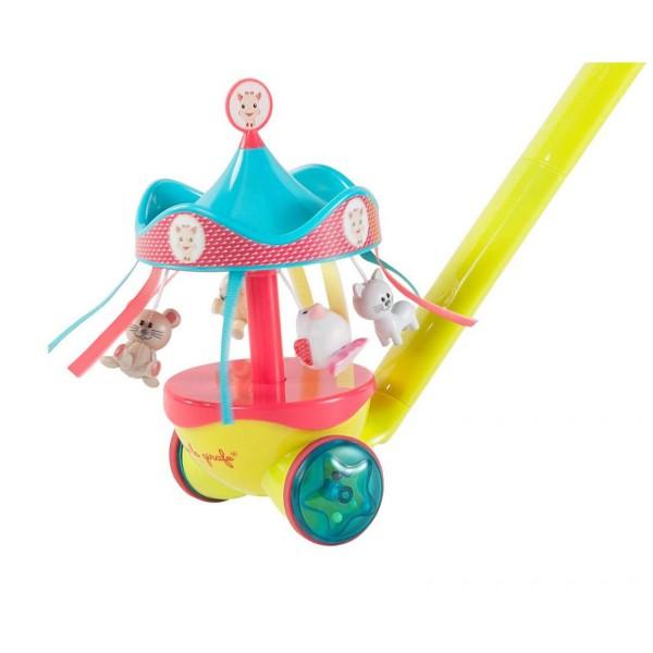 jouet pousser pouss 39 pousse sophie la girafe jeux et jouets vulli avenue des jeux. Black Bedroom Furniture Sets. Home Design Ideas