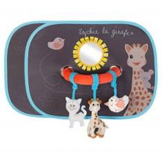 Set de deux pare-soleil Sophie la girafe