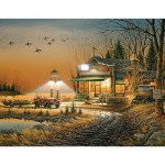 Puzzle 1000 pièces : Bienvenue à Paradise Lake