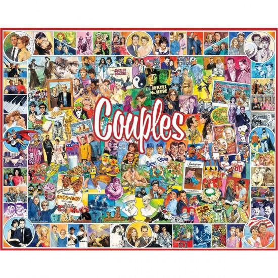 Puzzle 1000 pièces : Couples célèbres - White-902